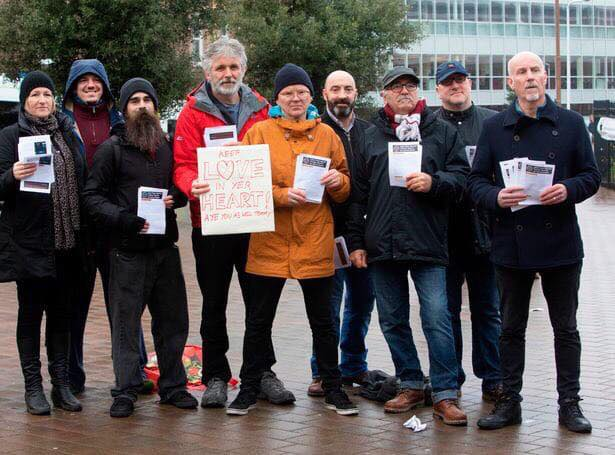 Photo: Some of the Hearts FLAF team at Gorgie